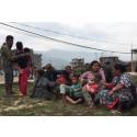 Massiva insatser behövs efter jordbävningen i Nepal