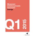 Manpower Arbetsmarknadsbarometer kvartal 1 2015