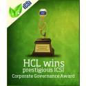 HCL vinder prisen for god selskabsledelse fra ICSI