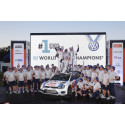 Volkswagen vinder verdensmesterskabet i rally 2014