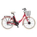 EcoRide elcykel - Ambassador 2016 Röd