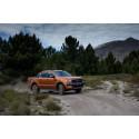 Neste generasjon Ford Ranger pickup med redusert forbruk, dristig design og avanserte teknologier
