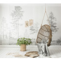 Scandinavian Surface - Panorama Grey - Photowall