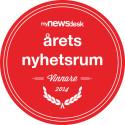 AddQ vinnare i Årets Nyhetsrum 2014