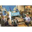 Presentation of world-wide unique dewatering press