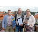 Falkenbergs företagsklimat är bäst i Halland