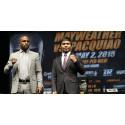 Mayweather vs. Pacquiao Suomen pay-per-view katseluun Viasatin ja Viaplayn kautta