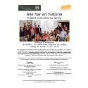 Invitation til konference - Alle har en historie