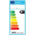Energimärkningsetikett för lampor