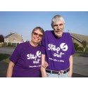 Local stroke survivors take on Step out for Stroke, despite being more than 1,600 miles away from Scunthorpe