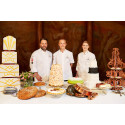Därför blir tårtan på prinsbröllopet majestätisk – de utvalda konditorerna från Svenska Konditorlandslaget förklarar bröllopstårtans historia