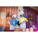Bakergutten og Bakemester Harepus baker - fra Hakkebakkeskogen
