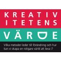Pressinbjudan: Kreativitetens värde