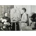 Porträtt och offentliga uppdrag i Astri Bergman Taubes konst