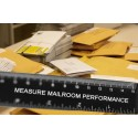 How do you measure the performance of your mailroom?