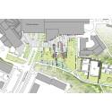 Tyresö kommun förnyar torg och park i Tyresö Centrum