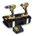 DEWALT 18V XR Brushless Twin Pack DCK266 2AH Bluetooth