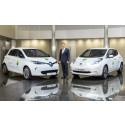200 elbilar från Renault och Nissan på klimatmötet i Paris