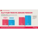 Collectums pensionsbarometer: Allt fler tror på senare pension