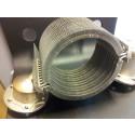 Specialutvecklad upphängningsanordning för värmeplåtar i Stirlingmotor