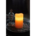 Blockljus med batteri och timer-miljö,orange