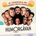 Komikeragenturen ROA presenterar HUMORGÅVAN 2015