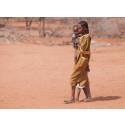 Sabria, 15 år, i Kenya