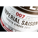 Projekt 007 Närbild etikett