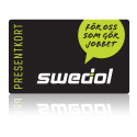 Swedols administration becomes easier with electronic gift cards