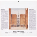 Arkitektur på museum. Arkitekturkalenderen 1996
