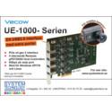 Vecow UE-1000 – ett USB3.0 interface för snabba kameror med 4 eller 8 portar