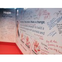 Wall of hope - World Psoriasis Day 2015