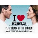 Peter Jöback och Helen Sjöholm med I Love Musicals till Scandinavium
