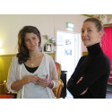 Lisa Hellmer och Amanda Mendiant på Designfrukost