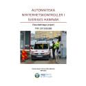 Utvärderingsrapport försök med alkobommar i Frihamnen, Stockholm