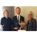 This year's MBA scholar is Gustaf Haag