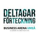 Se uppdaterade deltagarförteckningen för Business Arena Umeå