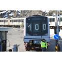 En viktig milepæl for T-banen, MX nr.100 sette i ordinær drift.