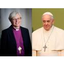 Ärkebiskopen möter påven i Rom