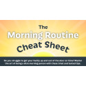 The Morning Routine Cheat Sheet from Dreams [Infographic]