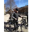 Daniel Tynell, Kalle Moraeus och Leksands IF cyklar för hjärtsjuka barn