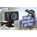 G-eye actionkamera: Juklappen för aktiva tekniknördar