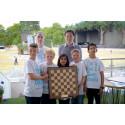 EnterCard støttet sjakkskolelag på pallen i London