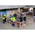 Första spadtaget för studentbostäder på Kungsholmen
