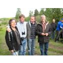 Invigning av Gredelby hagar och Trunsta träsk i Knivsta kommun 2009