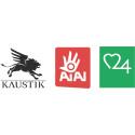 Kaustik Aiai Omsorg24 logo