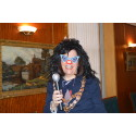 Mayor puts funny face forward for Red Nose Day