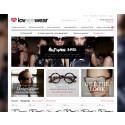 Loveyewear.se vill fylla allas garderober med slipade märkesglasögon