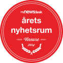 Djurens Rätt vinnare i tävlingen Årets Nyhetsrum