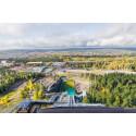 Cibes Lift visar dig utsikten under skid-VM i Falun 2015